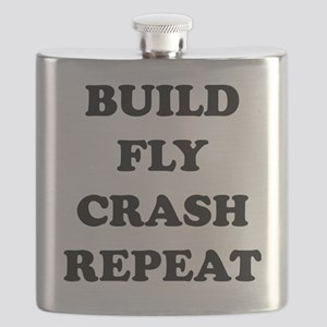 BuildFlyCrash10x10 Flask