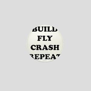 BuildFlyCrash10x10 Mini Button