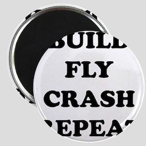 BuildFlyCrash10x10 Magnet