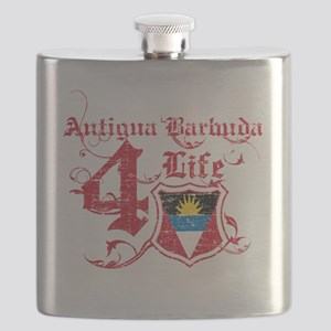 antigua barbuda Flask
