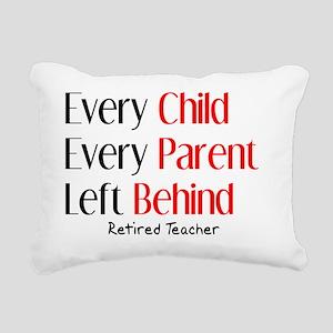 every child parent RETIR Rectangular Canvas Pillow