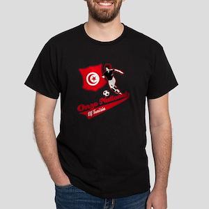 Tunisian soccer Dark T-Shirt