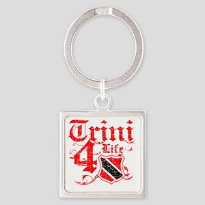 trinidad Square Keychain