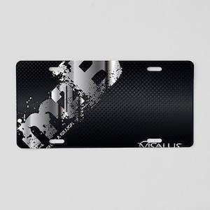 ViSalus M2B Laptop Skin Aluminum License Plate