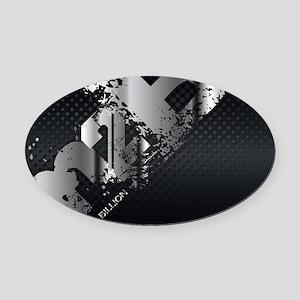 ViSalus M2B Mousepad Oval Car Magnet