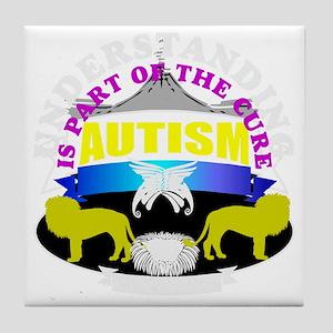 Autism needs understanding Tile Coaster