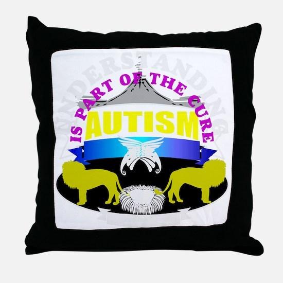 Autism needs understanding Throw Pillow