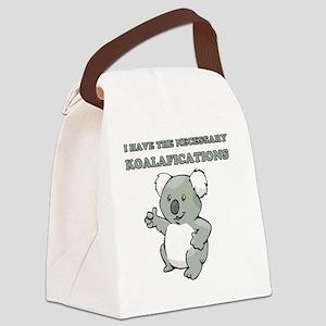 koala Canvas Lunch Bag