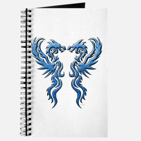 Twin Dragons: Blue Journal