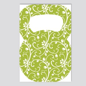 Organic Green Vine Kettle Postcards (Package of 8)