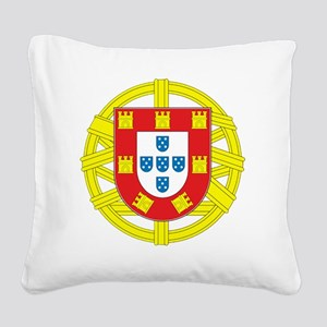 portugal 2 Square Canvas Pillow