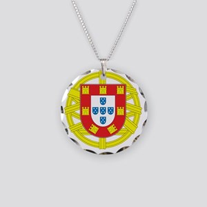 portugal 2 Necklace Circle Charm