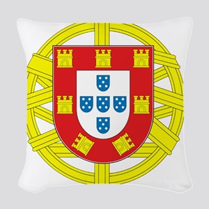 portugal 2 Woven Throw Pillow