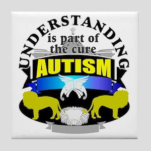 Understanding Autism cure Tile Coaster