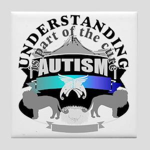 Autism understanding Tile Coaster