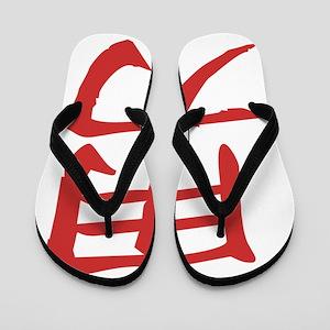 braveColored Flip Flops