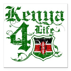 Kenyan Flag Car Magnets Cafepress