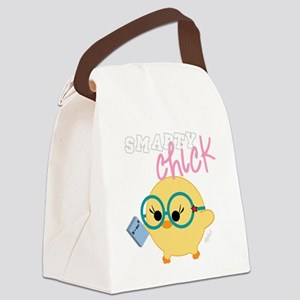 smarty dark Canvas Lunch Bag