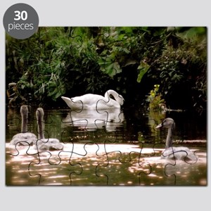 Swan Family Puzzle