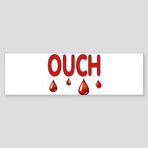 OUCH Bumper Sticker