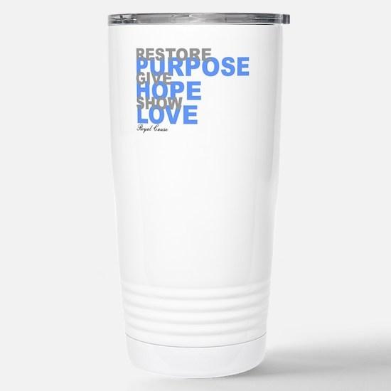 Restore Purpose Stainless Steel Travel Mug