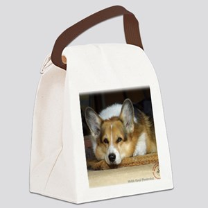 Welsh Corgi Pembroke 9R022-030_2 Canvas Lunch Bag