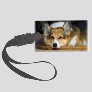 Welsh Corgi Pembroke 9R022-030_2 Large Luggage Tag