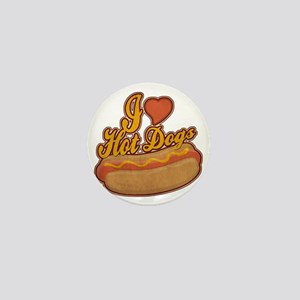 ILoveHotdogs Mini Button