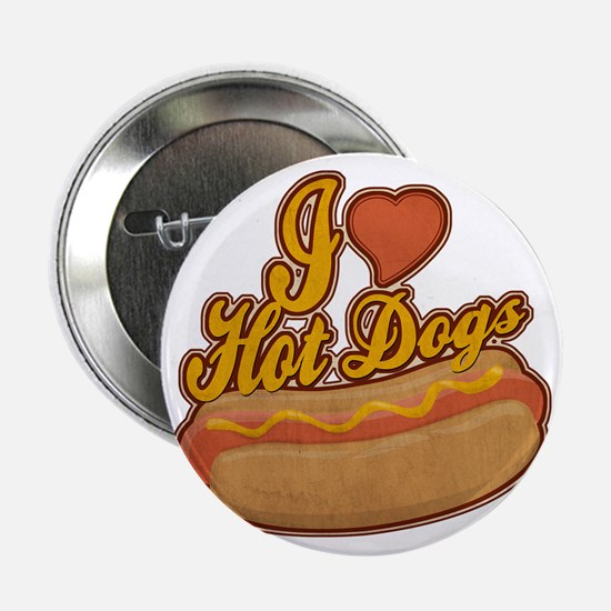 "ILoveHotdogs 2.25"" Button"
