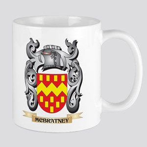 Mcbratney Coat of Arms - Family Crest Mugs