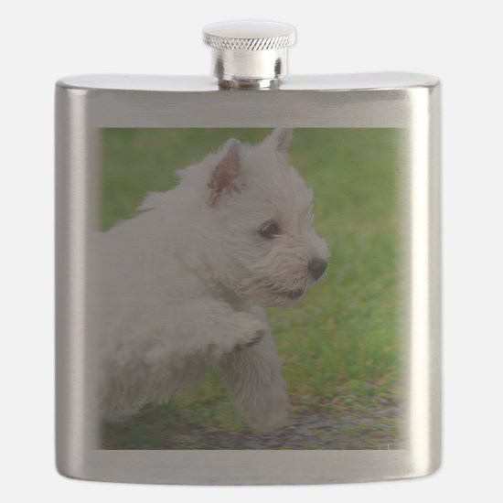 West Highland White Terrier AA060D-020 Flask