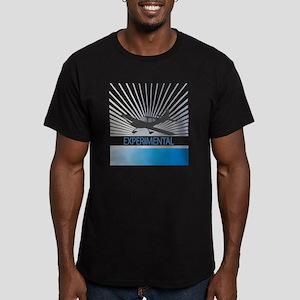 Aircraft Experimental Men's Fitted T-Shirt (dark)