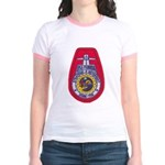 USS FLORIDA Jr. Ringer T-Shirt