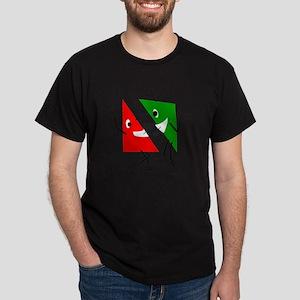 Triangular discussion Dark T-Shirt