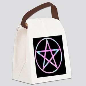 Candygram Pastel Pentacle bl Canvas Lunch Bag