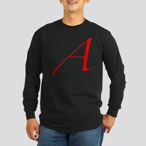 Dawkins Scarlet Letter At Long Sleeve Dark T-Shirt