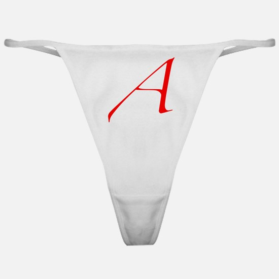 Dawkins Scarlet Letter Atheist Symbo Classic Thong
