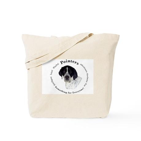 Pointer Attributes Tote Bag