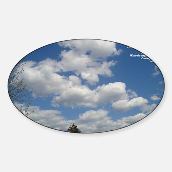 Now Sticker (Oval)