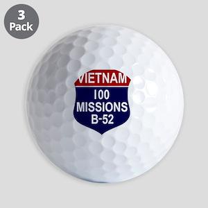 Vietnam - 100 Missions B-52 Golf Balls