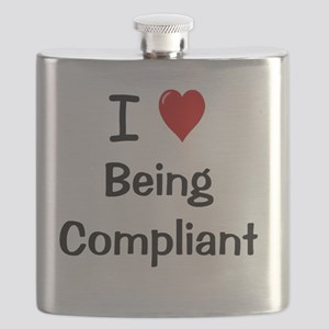 I Love Being Compliant Flask