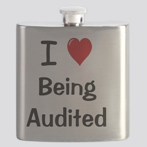I Love Being Audited Flask
