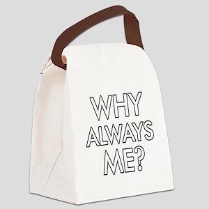 whyalwaysme Canvas Lunch Bag