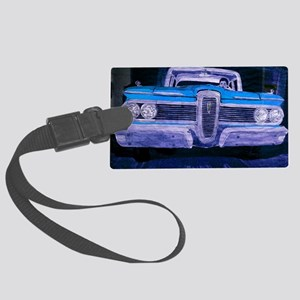 classic car laptop skin Large Luggage Tag