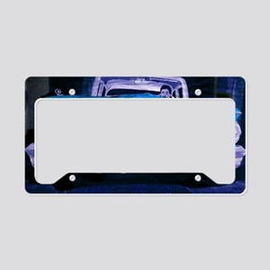 classic car laptop skin License Plate Holder