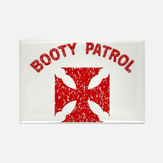 Booty Patrol Rectangle Magnet