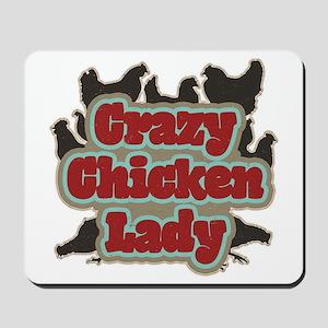 crazychickenladyshirt2 Mousepad