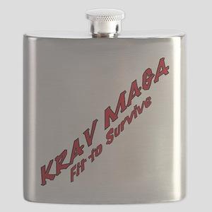 Krav Maga Fit to Survive Flask