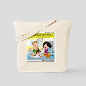 MultiTaskingLarge Tote Bag