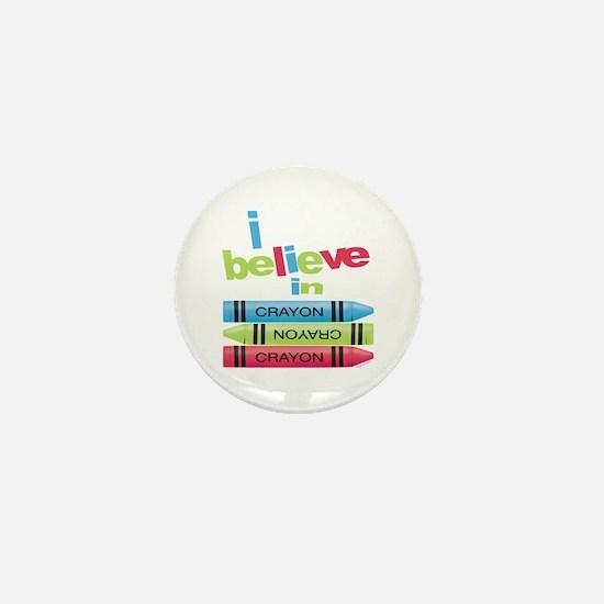 I believe in colors! Mini Button